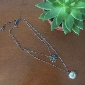 Lucky Brand Two Layer Necklace